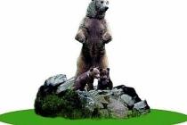 CHP'li Bolu Belediyesi'nden 10 metrelik bozayı heykeli!