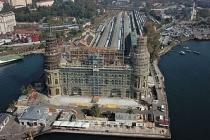 Proje üretemeyen CHP'li İBB Ulaştırma ve Altyapı Bakanlığı'nın Haydarpaşa Arkeopark projesine de çöktü!