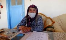 Denizli'de 90 yaşındaki İsmi Kaya, 2 ayda okuma - yazma öğrendi