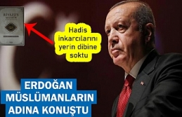 Erdoğan hadis inkarcılarını yerden yere vurdu!