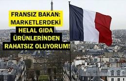 Fransız bakan: Marketlerdeki helal gıda ürünlerinden rahatsız oluyorum!