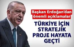 Türkiye için stratejik proje hayata geçti!
