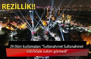 """29 Ekim kutlamaları: """"Sultanahmet Sultanahmet..."""
