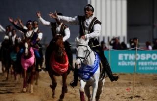 4. Etnospor Kültür Festivali'nde Azerbaycan-Karabağ...