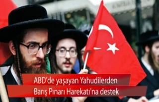 ABD'de yaşayan Yahudilerden Barış Pınarı...