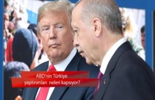 ABD'nin Türkiye yaptırımları neleri kapsıyor?