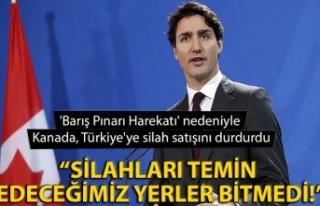'Barış Pınarı Harekatı' nedeniyle Kanada,...