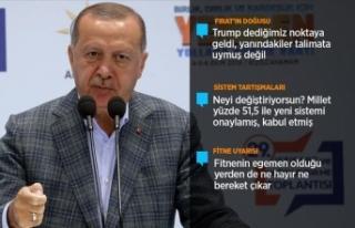 Başkan Erdoğan: AK Parti, milletimizin tek umudu...