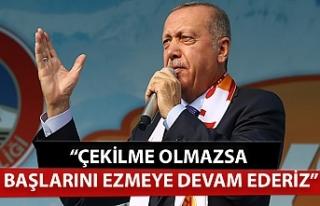 Cumhurbaşkanı Erdoğan'dan '120 saat'...