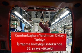 Cumhurbaşkanı Yardımcısı Oktay: Türkiye İş...