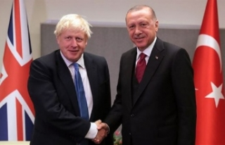 Erdoğan ile İngiltere başkanı ile telefonda görüştü:...