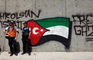 Filistin'den 'Barış Pınarı Harekatı'nı...