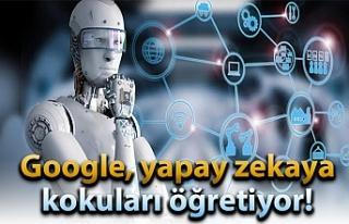 Google, yapay zekaya kokuları öğretiyor!