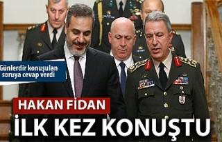 Hakan Fidan, Barış Pınarı Harekatı'yla ilgili...