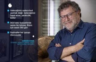 İKSV Genel Müdürü Taner: Kültür ve sanatla büyümek...