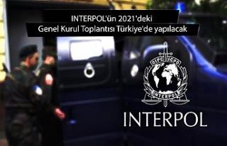 INTERPOL'ün 2021'deki Genel Kurul Toplantısı...