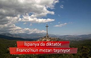 İspanya'da diktatör Franco'nun mezarı...