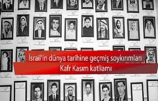 İsrail'in Kafr Kasım katliamı