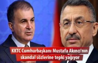 KKTC Cumhurbaşkanı Mustafa Akıncı'nın skandal...