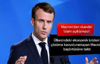 Macron'dan skandal İslam açıklaması! Ülkesindeki...