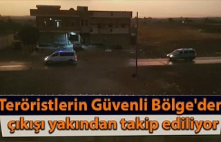MSB: Teröristlerin Güvenli Bölge'den çıkışı...