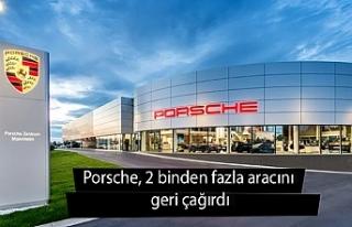 Porsche, 2 binden fazla aracını geri çağırdı