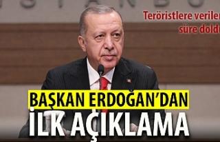 Süre doldu... Cumhurbaşkanı Erdoğan'dan ilk...