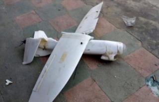 Terör örgütü YPG/PKK'nın insansız hava...