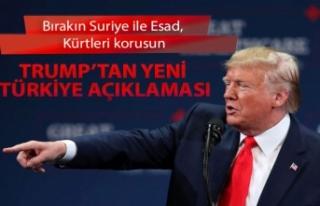 Trump'tan yeni Türkiye açıklaması: Bırakın...