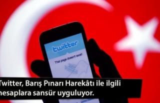 Twitter, Barış Pınarı Harekâtı ile ilgili hesaplara...