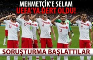 UEFA'dan Millilere 'asker selamı'...