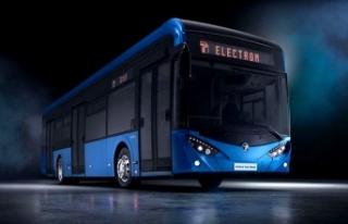 Yerli elektrikli otobüs yollara iniyor
