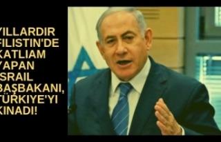 Yıllardır Filistin'de katliam yapan Netanyahu'dan...