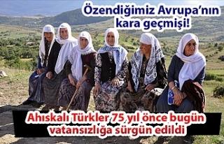 Ahıskalı Türkler 75 yıl önce bugün vatansızlığa...