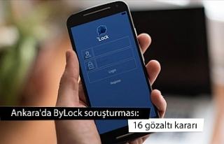 Ankara'da ByLock soruşturması: 16 gözaltı...