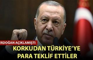 Başkan Erdoğan açıklamıştı! Korkudan Türkiye'ye...