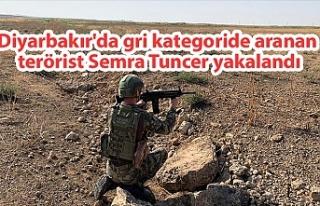 Diyarbakır'da gri kategoride aranan terörist...
