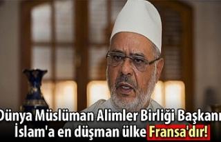 Dünya Müslüman Alimler Birliği Başkanı: İslam'a...