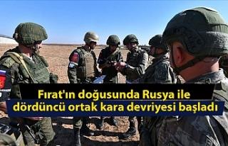 Fırat'ın doğusunda Rusya ile dördüncü ortak...