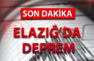 Kandilli Rasathanesi duyurdu. Elazığ'da deprem...