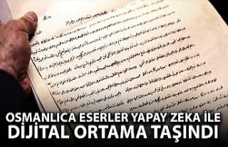 Osmanlıca eserler yapay zeka ile dijital dünyaya...