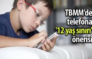 TBMM'de telefona '12 yaş sınırı'...