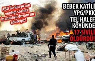 Terör örgütü PKK/YPG'den alçak saldırı:...