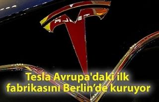 Tesla Avrupa'daki ilk fabrikasını Berlin'de...