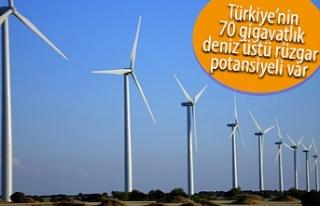 Türkiye rahatlıkla rüzgar enerjisiyle elektrik...