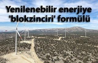 Yenilenebilir enerjiye 'blokzinciri' formülü