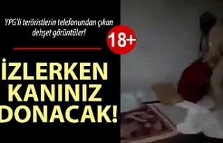 YPG'li teröristin cep telefonundan çıkan dehşet...