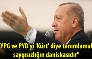 """""""YPG ve PYD'yi 'Kürt' diye tanımlamak..."""