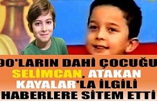90'ların dahi çocuğu Selimcan, Atakan Kayalar'la...