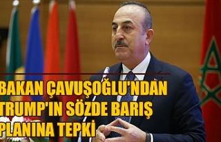 Bakan Çavuşoğlu'ndan Trump'ın sözde...
